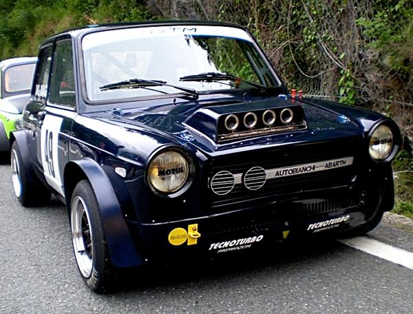 Fiat 600 Abarth 112 Car Interior Design